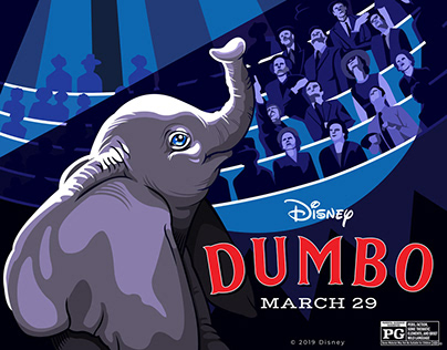 Promotion Poster: Disney's Dumbo