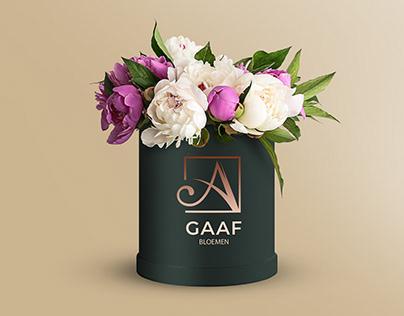 Flower shop A GAAF , Netherlands | Visual identity |