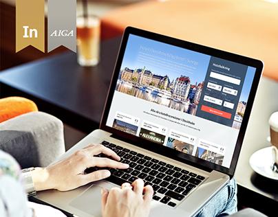 Hotell Stockholm Responsive Design