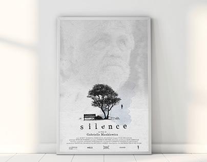 Affiche court métrage - Silence