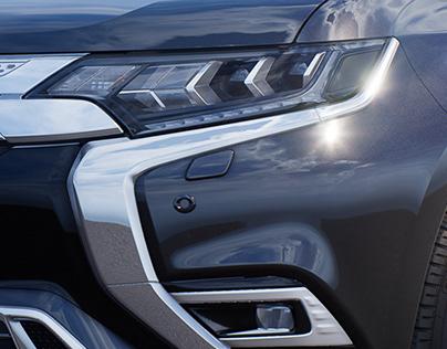 UE4 R&D - Mitsubishi Outlander PHEV