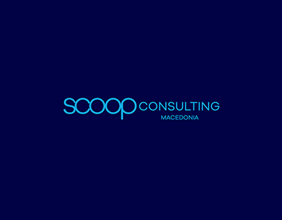 SCOOP consulting Macedonia - Logo Design