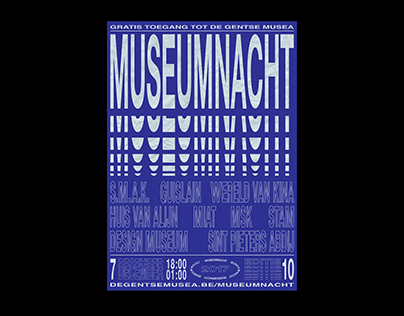 MUSEUMNACHT — POSTER