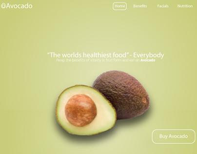 Avocado Landing Page