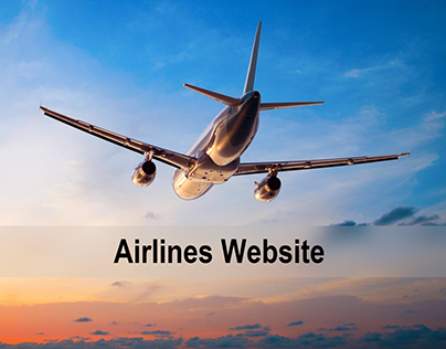 Landing Page for Airlines