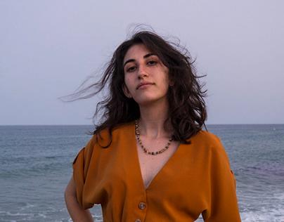 Irene and the sea