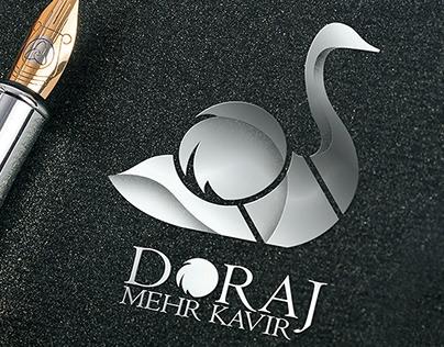 طراحی لوگو مجتمع پرورش شترمرغ دراج کرمان