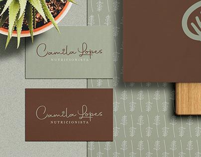 Camila Lopes | Logo