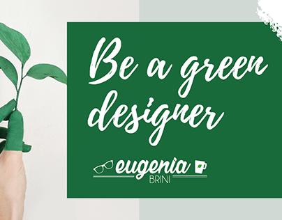 My CV & my Green Portfolio