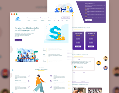 Loan agency website