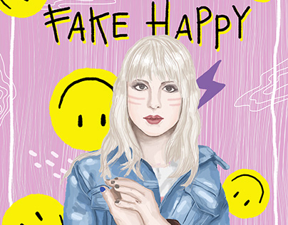 fanart for Hayley William from paramore