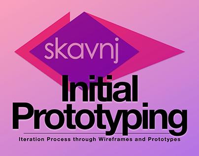 Skavnj / Traces 4: Initial Prototyping