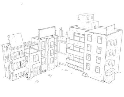 Cairo alley concept