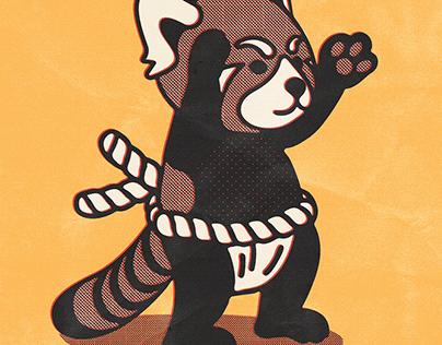 Poppy the Red Panda