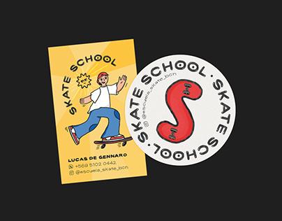 Skate School | Identity