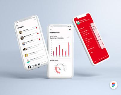 Client Risk Management Mobile Application