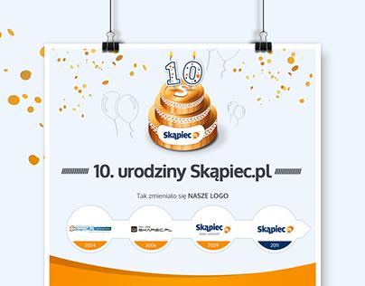 Skapiec.pl - 10th birthday