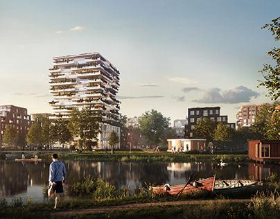 Weezenlanden urban concept | 1st place