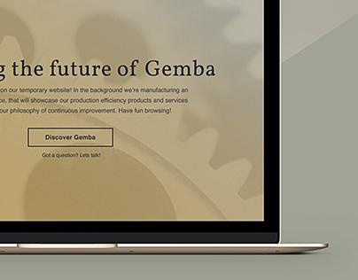 Gemba Solutions UK - Corporate website design