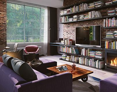 S&L | Loft-style apartment