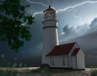 Lighthouse - Maya