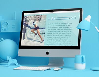 Swim Center Branding Project