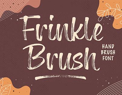 Frinkle Brush Handwritten Font