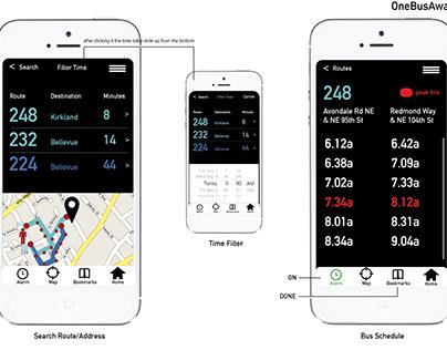 OneBusAway App Redesign