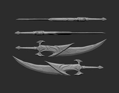 Custom Artemis Blade (God of War Ascension)