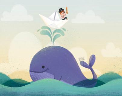 Go, Purple Whale!