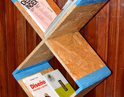 OSB modular shelves
