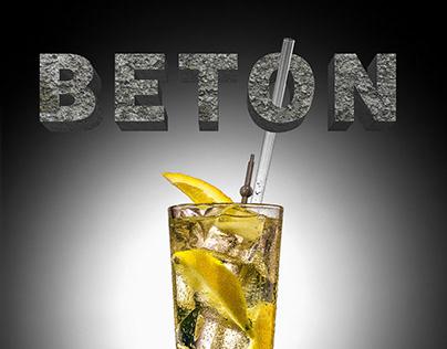 Coctail BETON - 3D TYPO, PHOTO