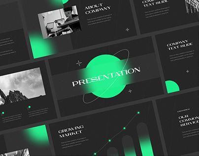 Pitch Deck / Presentation Concept / Design
