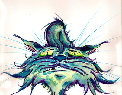 Le Blue Chat