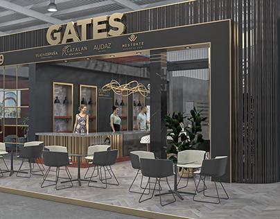 """Gates Developments"" Stand Design"