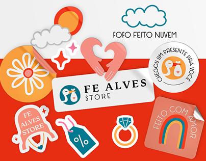 Fe Alves Store Branding