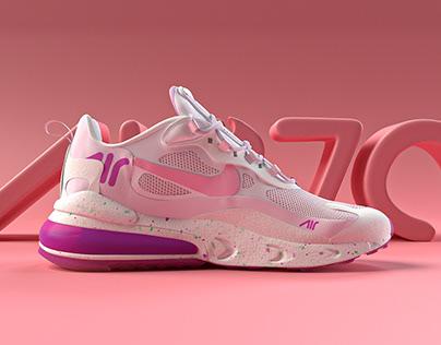 3D: Nike shoe