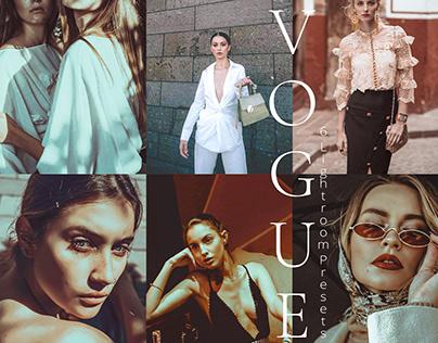 Vogue Collection Lightroom Mobile Presets