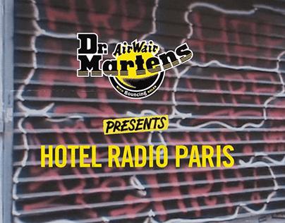 Dr. Martens x Hotel Radio Paris