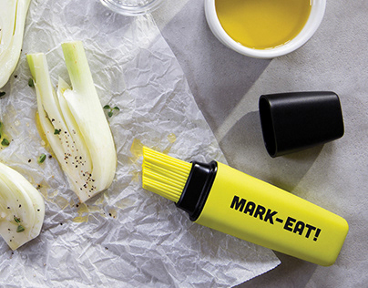Mark-Eat! \ Basting brush & Pump