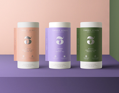 THREE LEAFS NEW PACKAGING