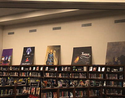 SCHOOL LIBRARY POSTER BOARDS // 2019-2020