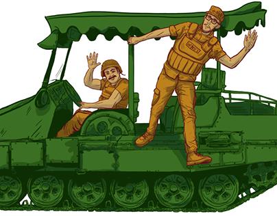 Ilustraciones Wing's Army Mazatlán