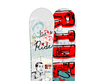 Ride Snowboards SBA8 snowboard design