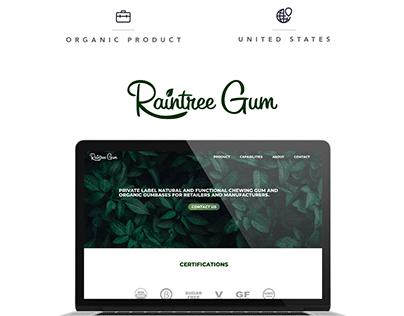 Raintree Gum - Website