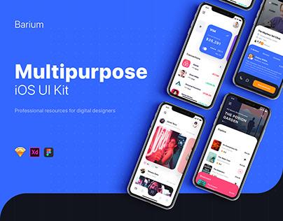Barium - Multipurpose UI Kit