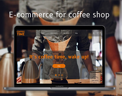 E-commerce for coffee shop
