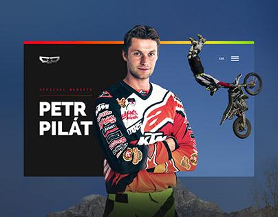 Website Design: Freestyle Motocross Rider