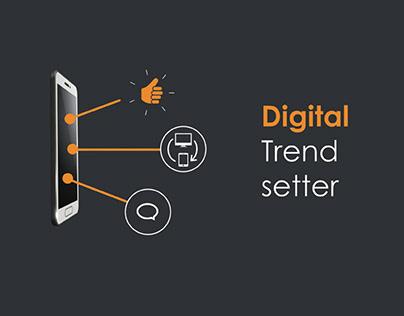 Digital Trend Setter - Animation
