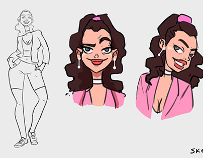 Character Design for Videoclip